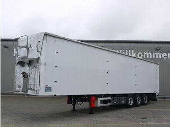 Moving floor semitrailer Knapen K 100 /KT01*91m³*Schubboden, Luft-Lift