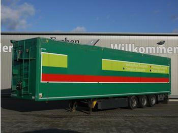Moving floor semitrailer Kraker CF-200Z, 90 m³, 10 mm Boden, Smart Board, BPW