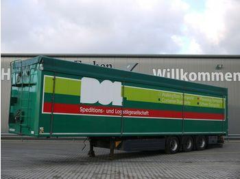 Moving floor semitrailer Kraker CF 200-Z 94m³, Schubboden, 10mm Boden, Luft-Lift