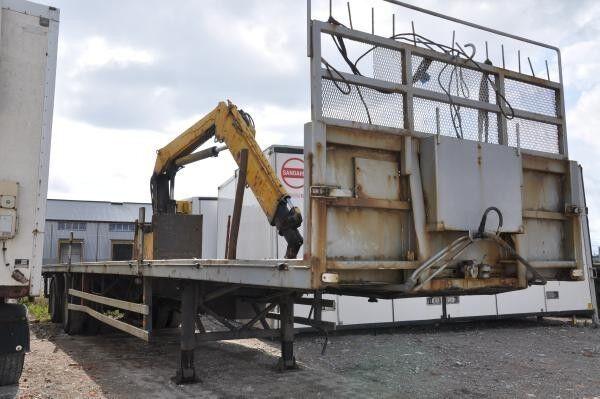 plattform semitrailer Harryda Slap SHB 280 N
