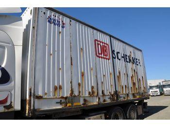 Skåp semitrailer Lagab Container / öppningsbar sida