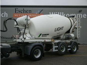 Semitrailer Stetter 10FHAC 10 m³ Auflieger ohne Antrieb, BPW