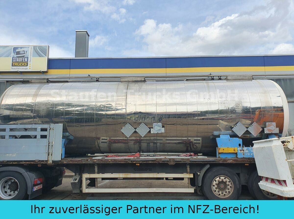 tank semitrailer Magyar V4A CHEMIE  Tankcontainer isoliert  32.500 liter
