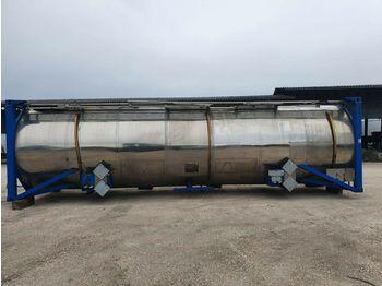 Tank semitrailer T+A TANK CONTAINER Chemietank  V4A 31000 Liter