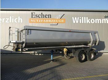 Tippbil semitrailer Carnehl CHKS/HH, 25 m³ Stahl/Hardox, Plane, Schütte, SAF