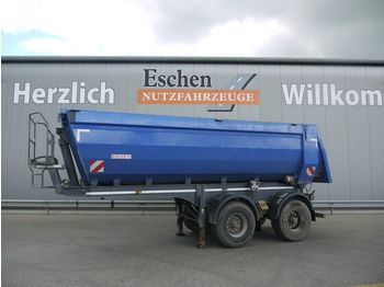 Tippbil semitrailer Kempf SKM 31, 23m³, Hardox, Stahlmulde, BPW, Luft/Lift
