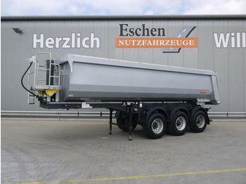 Tippbil semitrailer Langendorf SKS-HS 24/30, 26m³ Stahl, Podest, Luft/Lift, BPW