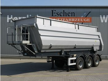 Tippbil semitrailer Meiller TR3, 36m³ Alu Halbschale, Luft/Lift, BPW