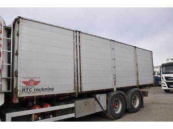 Tippbil semitrailer  ORY Flak med RTC täckning