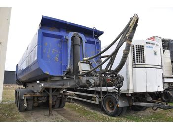 Tippbil semitrailer  STOLEN / Stulen Kilafors TRB 3-CTB3-41-90