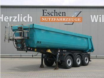 Tippbil semitrailer Schmitz Cargobull SKI 24, 24m³ Stahlmulde, SAF, Rollplane,SP 06/21