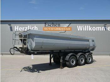 Tippbil semitrailer Schwarzmüller 25m³ Hardoxmulde, Luft/Lift, BPW