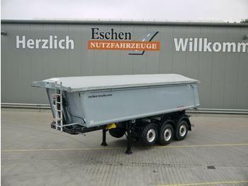 Tippbil semitrailer Schwarzmüller 3-Achs 25 m³ Alu Kastenmulde,elektr. Funkverdeck