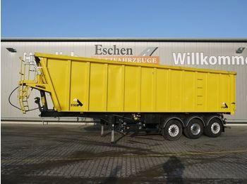 Tippbil semitrailer Stas SA 336K, 45m³, Voll-Alu, Luft-Lift, Pendelklappe