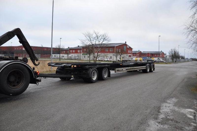 chassi trailer BTC GP 436,0 Växlarsläp