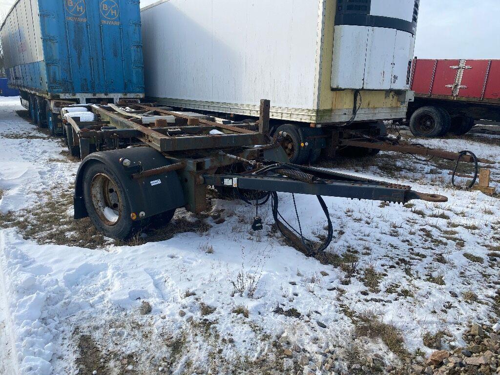 containerbil/ växelflak trailer Lagab 5530-3-TL-LSC