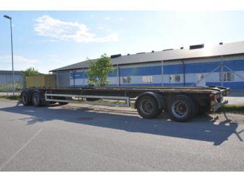 Containerbil/ växelflak trailer  MK SLÄP VÄXLAR SLÄP 4AXL