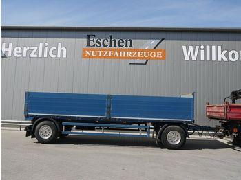 Flak trailer Fellechner 2 Achs Drehschemel, Luft, SAF