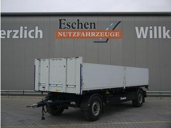 Flaksläp Krone AZP 18 Pritsche, Zurrschiene, BPW,  7100mm i.L.