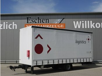 Kapell trailer Ackermann Z-KA-F 10.5 Anhänger Koffer,Schiebeplane,Trommel