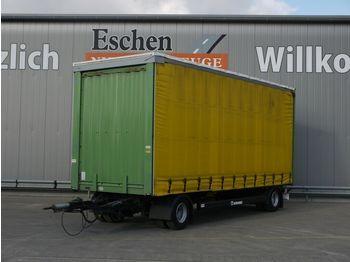 Kapell trailer Krone Anhänger Pritsche / Plane, Edscha, BPW, 1.Hand