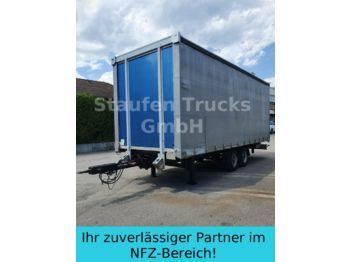 Kapell trailer Spier Tandem Pritsche/ Schiebe Plane luftgefedert