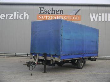 Kapell trailer Spier ZPL155 Anhänger Pritsche / Plane, BPW-Achsen