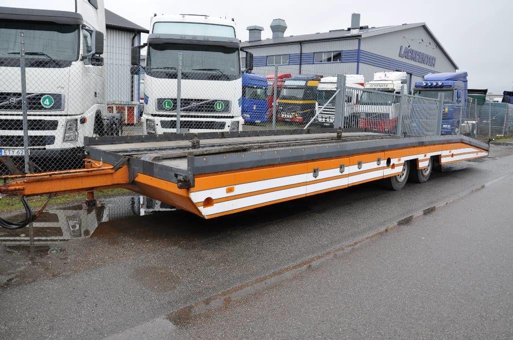 låg lastare trailer EKSJÖ MK-KT 8000