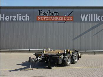 Plattform trailer Hüffermann HTM-09.35P Anhänger für Absetzmulden