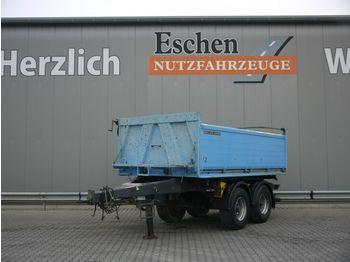 Tippbil trailer Meiller MZDA 18/21, Plane, Stützbein, Podest, BPW