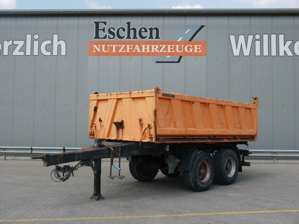 tippbil trailer Meiller MZDA 18/22 Stahl*Trommel*1000 Bordwände*HU05/22