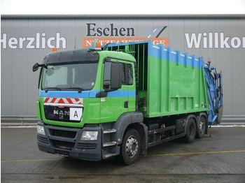 Sopbil MAN TGS 28.320 6x2-4BL, Haller M24X,  Zöller Schütte