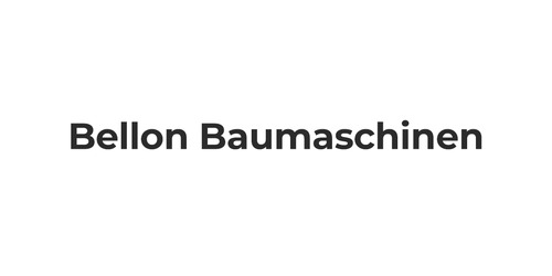 Bellon Baumaschinen